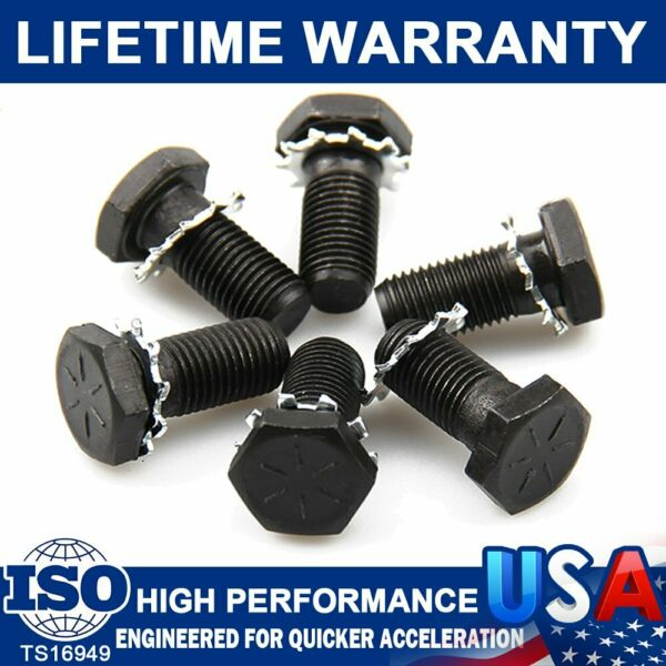 912 High Performance Flywheel Bolts Plate Bolts For Chevy &Ford 716-20 x 3132