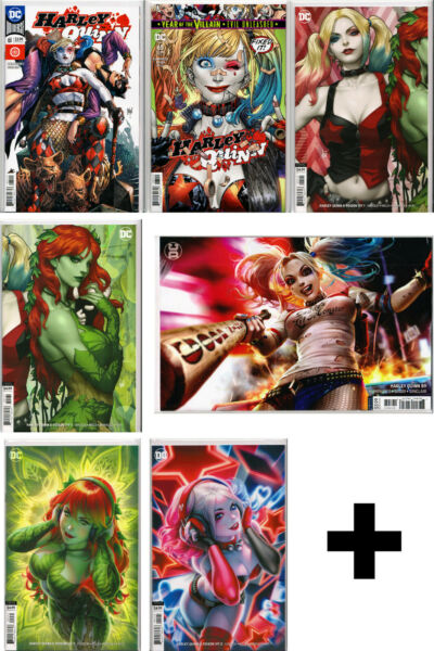 HARLEY QUINN COMIC BOOKS #1 5859 Regular Variant Exclusive IVY Series $23.99