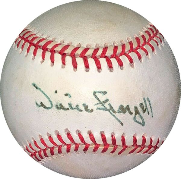 Willie Stargell signed RONL Rawlings Official NL Baseball minor tone spots- JSA