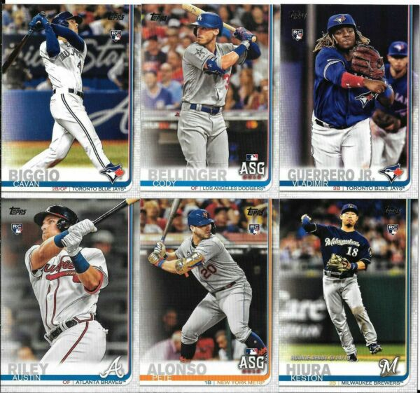 2019 Topps Update Baseball You PickChoose #US1-US150 ***Free Shipping***