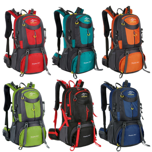 40L 50L 60L Outdoor Hiking Backpack Camping Shoulder Bag Travel Sport Waterproof $17.90