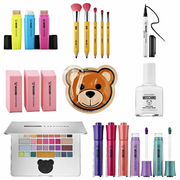 Moschino Sephora collection select yours brushes lip colors palette amp; more $34.00