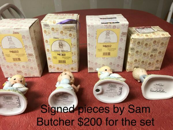 Precious Moments Signed by Sam Butcher
