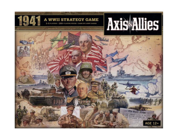 Avalon Hill Axis and Allies 1941 Board Game $24.82