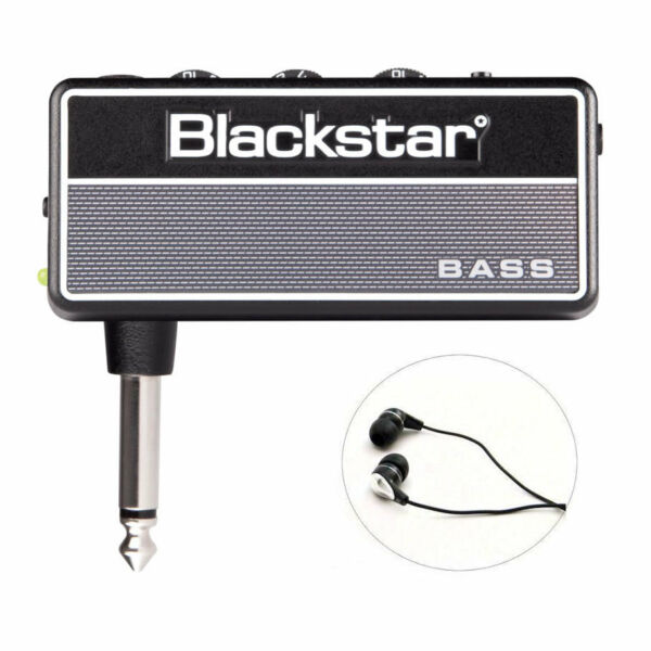 Blackstar amPlug 2 Mini Amp for Bass w Free Earbuds AP2FLYBASS