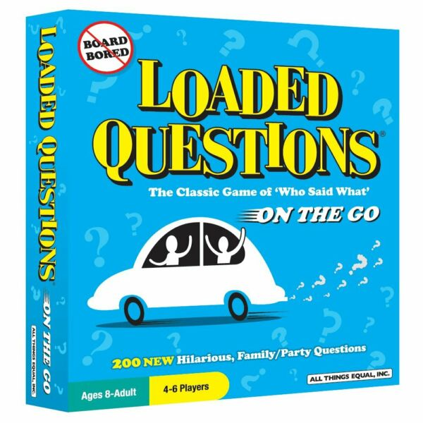 Loaded Questions On The Go Game - Brand New - Free Shipping!  Ages 8+