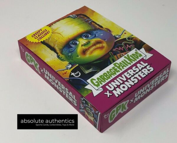 2019 Garbage Pail Kids Universal Monsters Sealed Set 4 Packs of 6 Cards Each