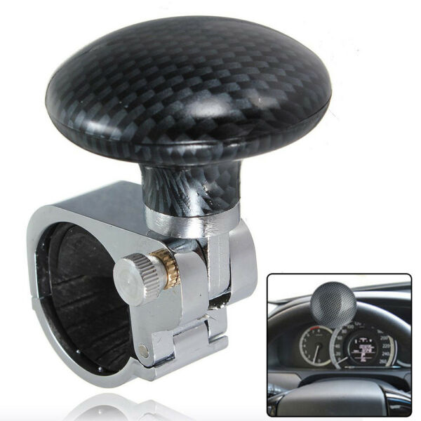 US Sale Collapsible Car Power Steering Wheel Suicide Spinner Handle Knob Booster $9.79