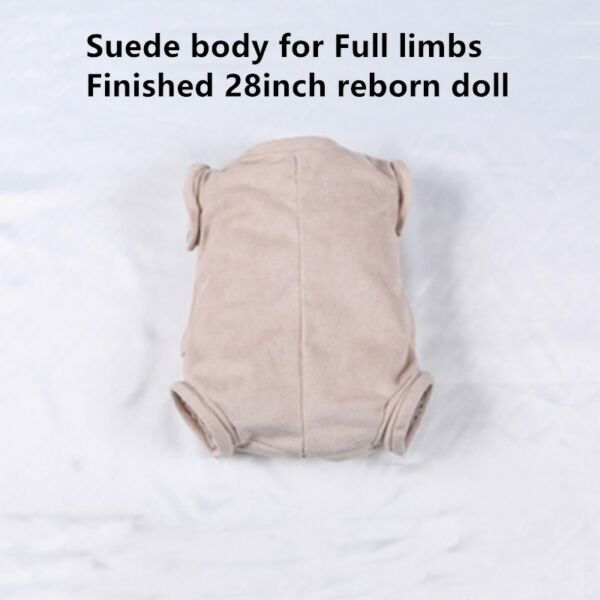 Handmade Reborn Toddler Doll Doe Suede Body for 28