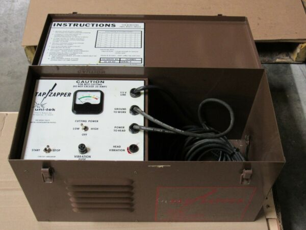 UNI-TEK TAP ZAPPER M1 TAP DISINTEGRATOR IN METAL CARRYING CASE 115VA 20AMP