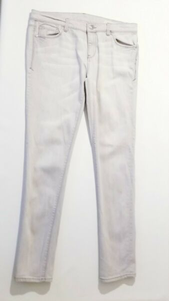 Tommy Women#x27;s Grey Distressed Her5 Jean Size 31x32 Light Wash Festival Distress $15.77