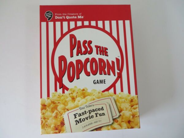 Wiggles Pass the Popcorn Game Fast Paced Movie Fun + Bonus Actor Card Game #7711
