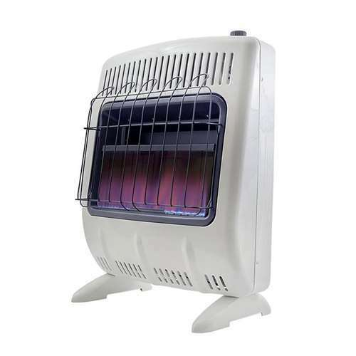 Mr. Heater 20000 BTU Vent Free Natural Gas Indoor Outdoor Heater Open Box