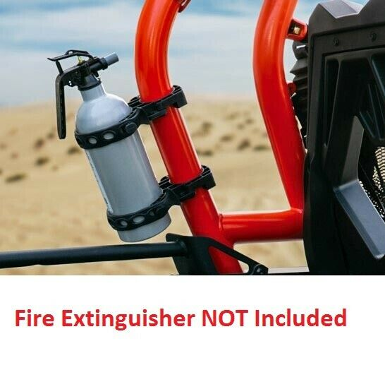 Open Trail Fire Extinguisher Roll Cage Mount Kit For UTV's with 1 38