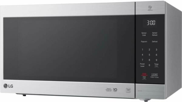 LG LMC2075ST 1200W 2.cu ft Large Microwave Oven Smart Inverter Stainless Steel