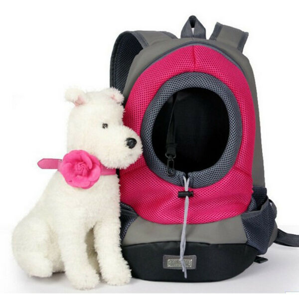 Dogs Portable Backpack Carriers Breathable Outdoor Bag Pet Supply $17.99