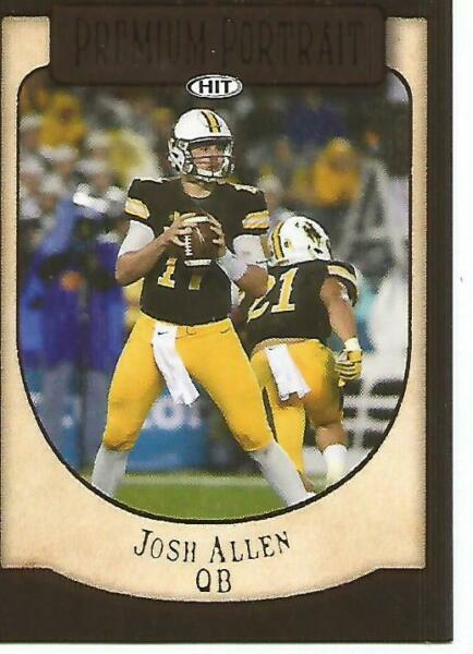j20 #PP 20 Josh Allen PREMIUM PORTRAIT SSP Rookie Buffalo Bills RC 2018 SAGE $3.00