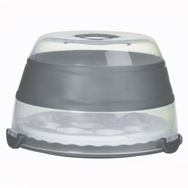 Prepworks By Progressive Collapsible Cupcake Carrier Gray