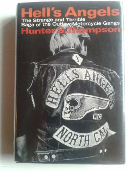 HELL'S ANGELS Hunter Thompson 1ST PRINT w SIGNED full signature plate laid in