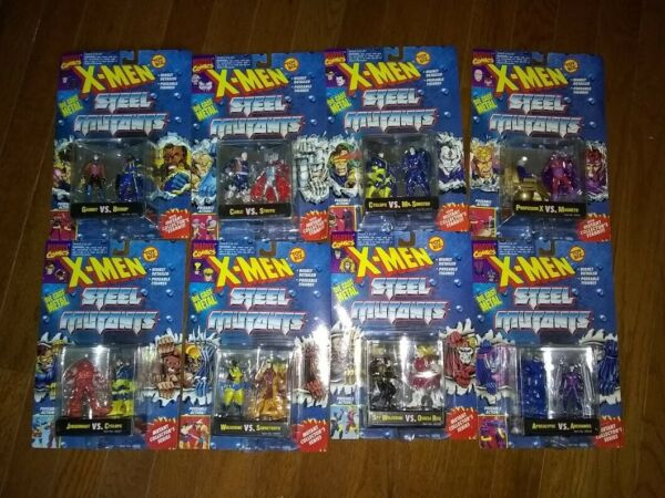 1994 ToyBiz Die Cast X Men Steel Collection