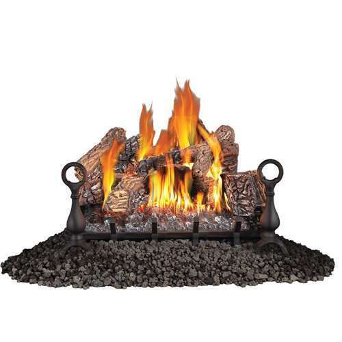 Fiberglow 24 Inch Log Burner Insert for Propane Gas Fireplaces (For Parts)