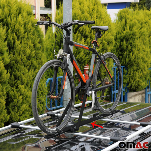 Roof Bike Bicycle Carrier Rack Mount Alu. Black For Mini 2002 2020 $80.66