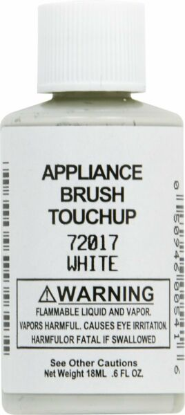 New Genuine OEM Whirlpool Appliance White Touch-Up Paint 72017