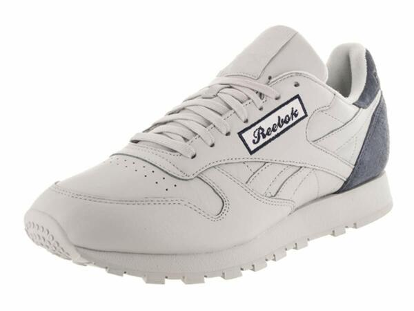 Reebok Mens Classic Leather PGS M Leather Low Top Lace Up Running Sneaker