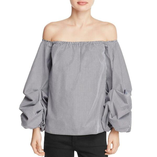 Petersyn Womens Hannah Off The Shoulder Strapless Blouse Top Shirt BHFO 7815 $6.69