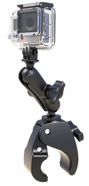 RAM Small Tough-Claw Mount with Custom Adapter for GoPro Hero Action Cam