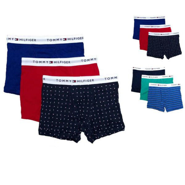Tommy Hilfiger Mens Cotton Classics Trunk 3 Pk $39.50