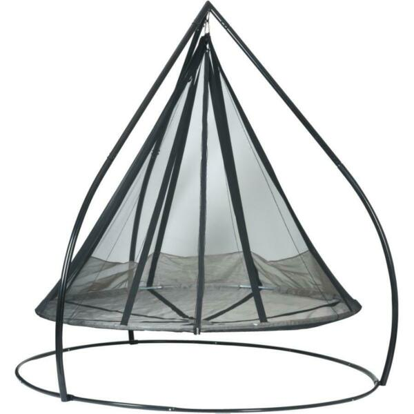 Hanging Saucer Hammock with Stand