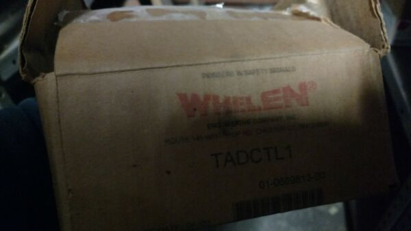 Whelen LED Traffic Advisor Control Box PN: TADCTL1