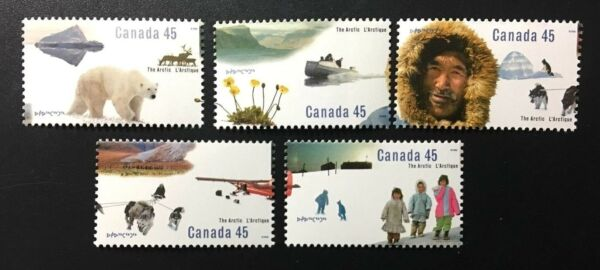 Canada #1574 1578 MNH The Arctic Set of Stamps 1995 C $4.00