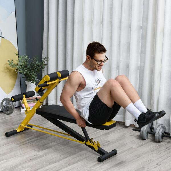 Multi Functional Adjustable Hyper Extension Bench Roman Chair Dumbbell Bench $88.19