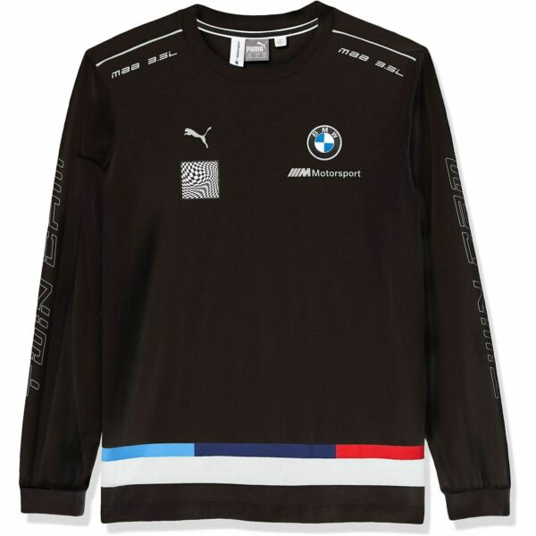 596554 01 Mens Puma BMW Motorsport Street Long Sleeve Tee