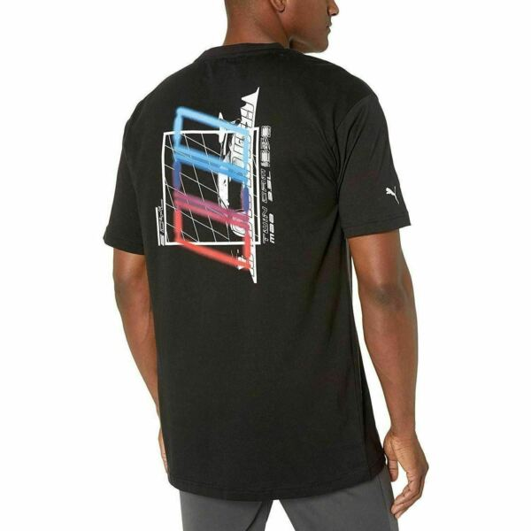 595183 01 Mens Puma BMW Motorsport Street Graphic Tee