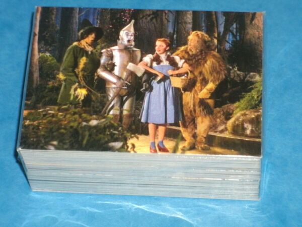 THE WIZARD OF OZ Series 2 Base Set Of 72 Premium Trading Cards Judy Garland Lion