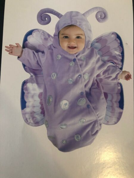 Baby Butterfly Bunting Costume Dress Up 0 9 Months