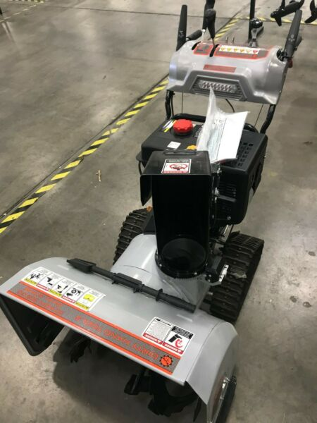 CLEARANCE! Used 30 Inch Two Stage Snow Blower with TRACKS - Dirty Hand Tools