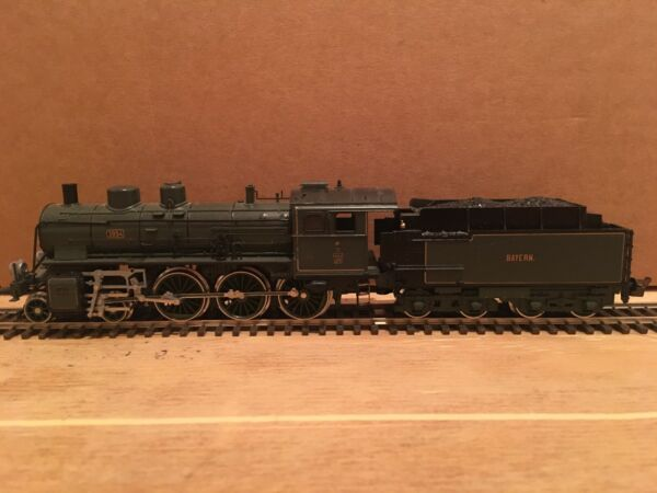 HO Trix P 35 4-6-0 Bayern Steam Engine #3894 Powered Bavarian Locomotive