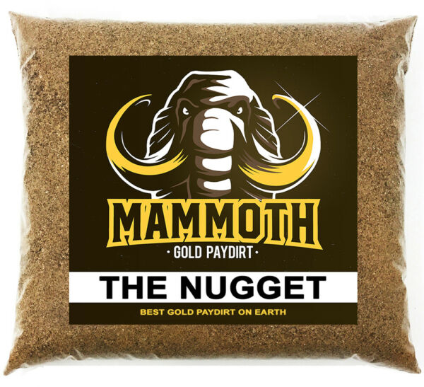 MAMMOTH PAYDIRT #x27;THE NUGGET#x27; Gold Paydirt Concentrate Panning Pay Dirt $32.99