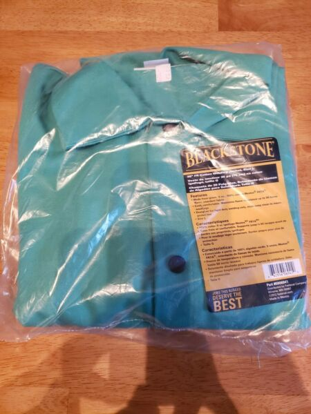 New Blackstone Westex 30in Fire Resistant Cotton Welding Jacket Green FASTENAL