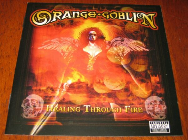 ORANGE GOBLIN - HEALING THROUGH FIRE (CDDVD AS NEW)