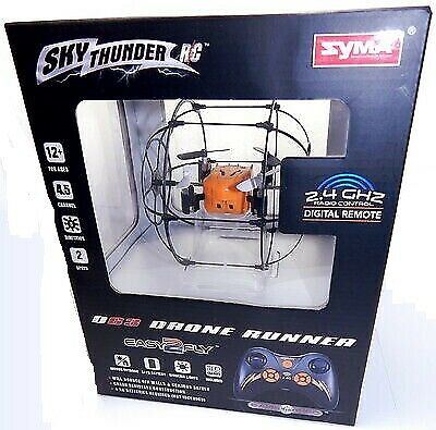 Sky Thunder D63 Drone Runner copter, 2.4 ghz , Orange