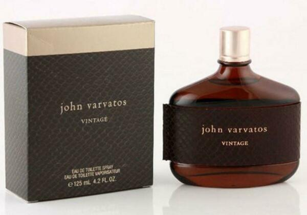 VINTAGE by JOHN VARVATOS Cologne 4.2 oz New in Box Sealed