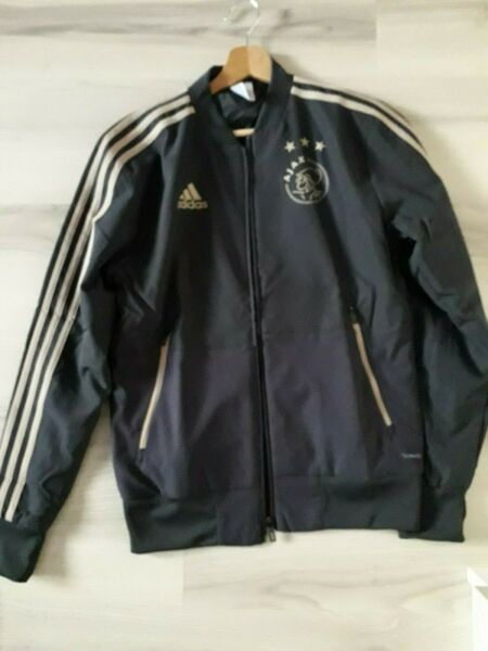 Carbon and Gold AFC AJAX Adidas jacket $24.99