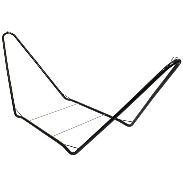 Sunnydaze Portable Durable Powder Coated Steel Hammock Stand Black 10#x27; $86.95