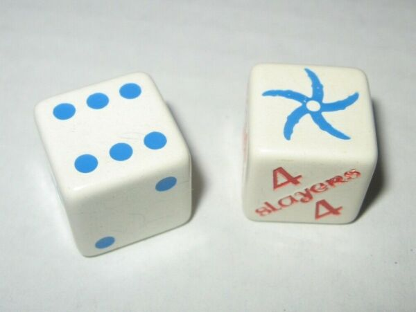 Vintage 1983 Krull DICE ONLY Parts for Board Game Parker Bros FREE Ship