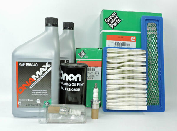 Cummins Onan OEM HGJAB LP RV Tune Up Kit A049E506 Marquis 5500 6500 7000.